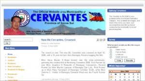 Cervantes.gov.ph hosted at BNS Hosting