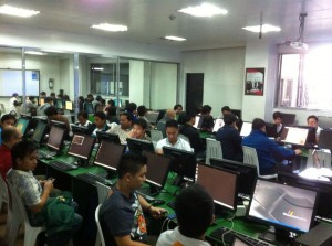 APNIC Network Security Training at Bagiuo City