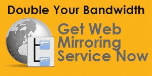 web mirroring service