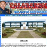 PNP Calabarzon site hosted at BNS Hosting