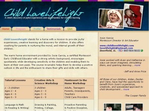 Child Live, Life & Light hosted at BNS Hosting