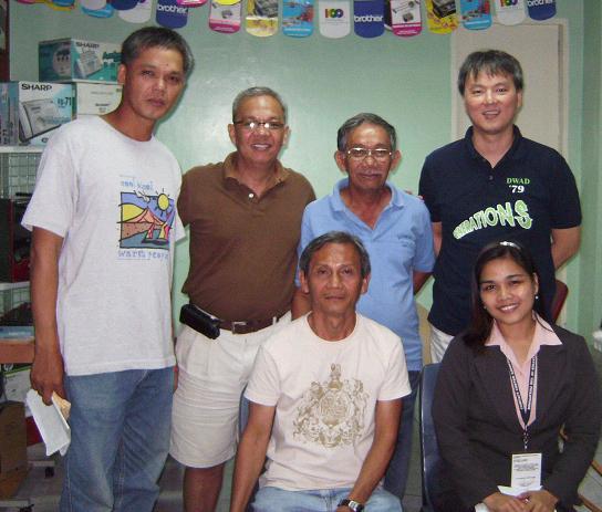 Bicol LGUs visited BNS Hosting