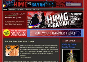 Himig ng Bayan hosted at BNS Hosting
